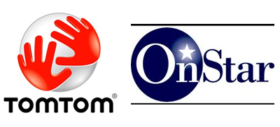 tomtom-onstar logos are owed by their perspective companies